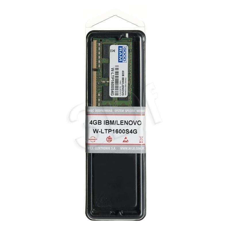 GoodRam DED.NB W-LTP1600S4G 4GB 1600MHz DDR3