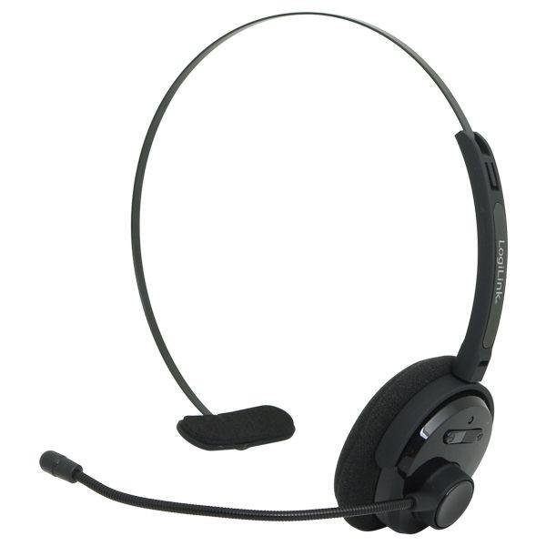 LogiLink - Słuchawka Bluetooth mono z mikrofonem
