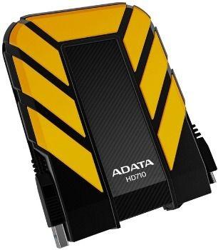 A-Data Dysk zewnętrzny HD710 750GB 2.5'' HDD USB 3.0 Żółty water/shock proof