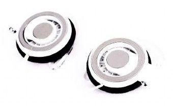 Gembird słuchawki stereo douszne MP3, 3.5mm Jack, z klipem za ucho, białe, 1.8m