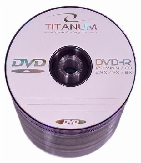 Titanum DVD-R 8x 4,7GB (Spindle 100)
