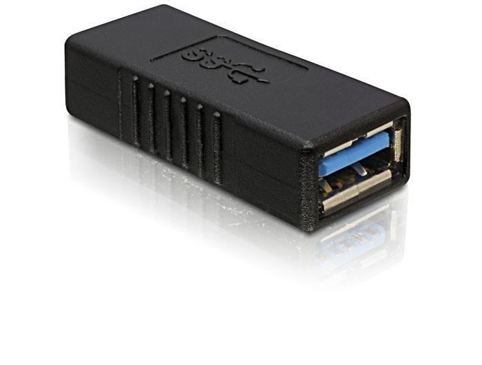 DeLOCK adapter USB 3.0 AF-AF (beczka)