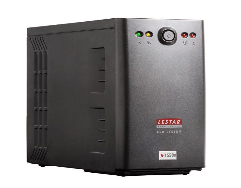 Lestar UPS S-1550s 1500VA/900W AVR 2xIEC+2xSCH USB RJ 45