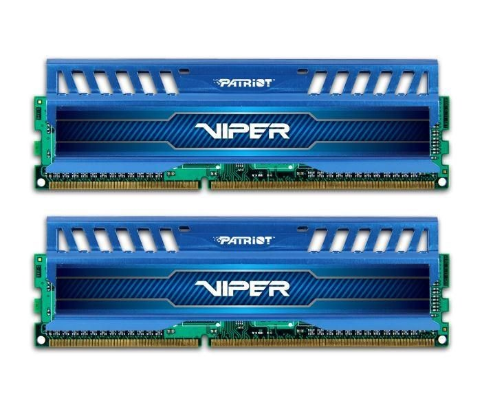 Patriot DDR3 Patriot Viper 3 Sapphire Blue 2x4GB 1866MHz CL9 1.5V