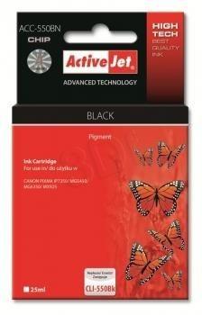 ActiveJet Tusz ActiveJet ACC-550BN | Czarny | 20 ml | Canon PGI-550BK