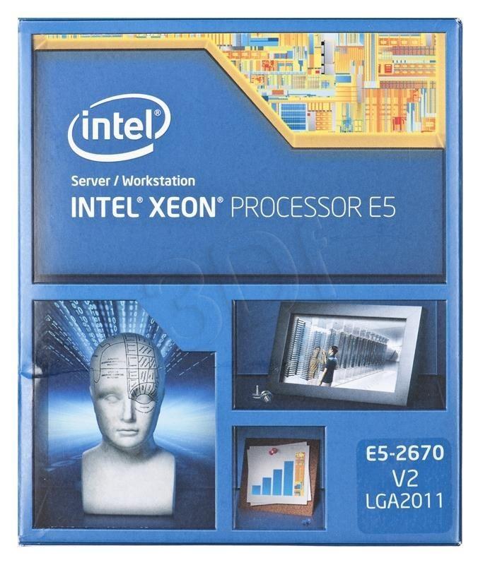 Intel Procesor Xeon E5-2670 v2 2500MHz 2011 Box