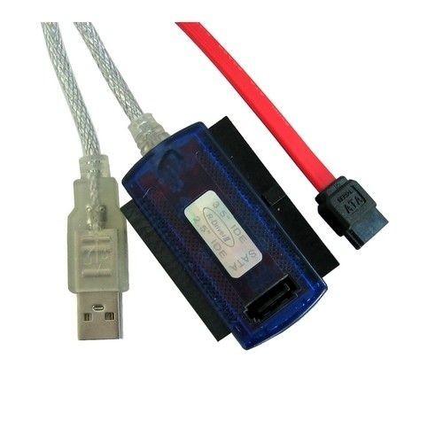 4World Adapter USB 2.0 do IDE/SATA Combo 2.5'' i 3.5'' z zasilaczem