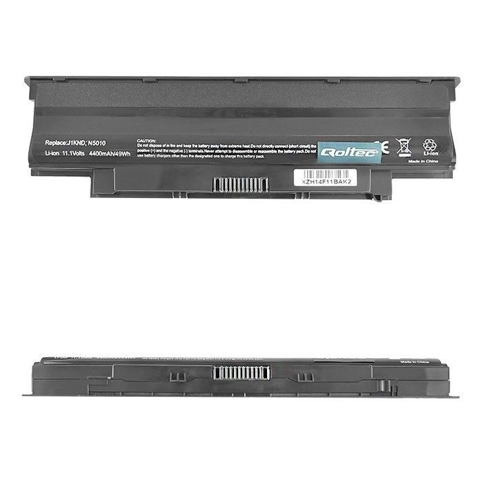 Qoltec Bateria do laptopa Long Life - Dell Vostro 13R, 10.8-11.1 V | 4400 mAh