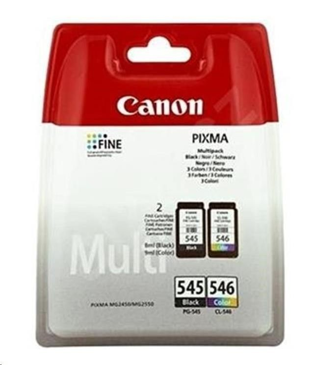 Canon Tusz CL-546 color BLISTER with security | PIXMA MG2450