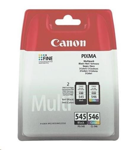 Canon Tusz PG545/CL546 Multi pack BLISTER with security | PIXMA MG2450
