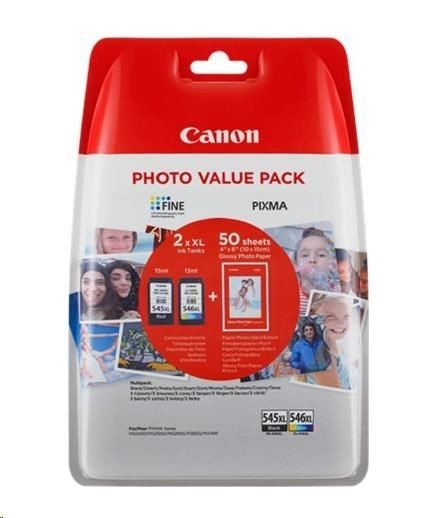 Canon Tusz CL546 XL color BLISTER with security | PIXMA MG2450
