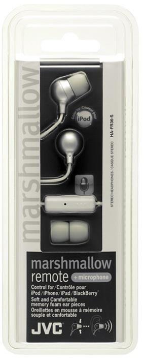 JVC Słuchawki douszne HA-FR36-S membrana 8.5mm, Pilot&mic