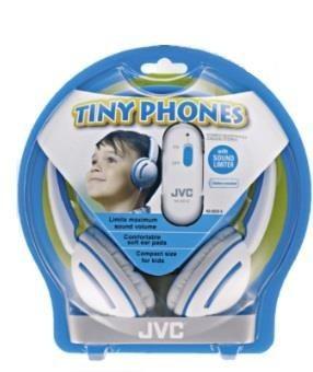 JVC Słuchawki dziecięce HA-KD10-A , ograniczenie głośności, przewód 0.8m