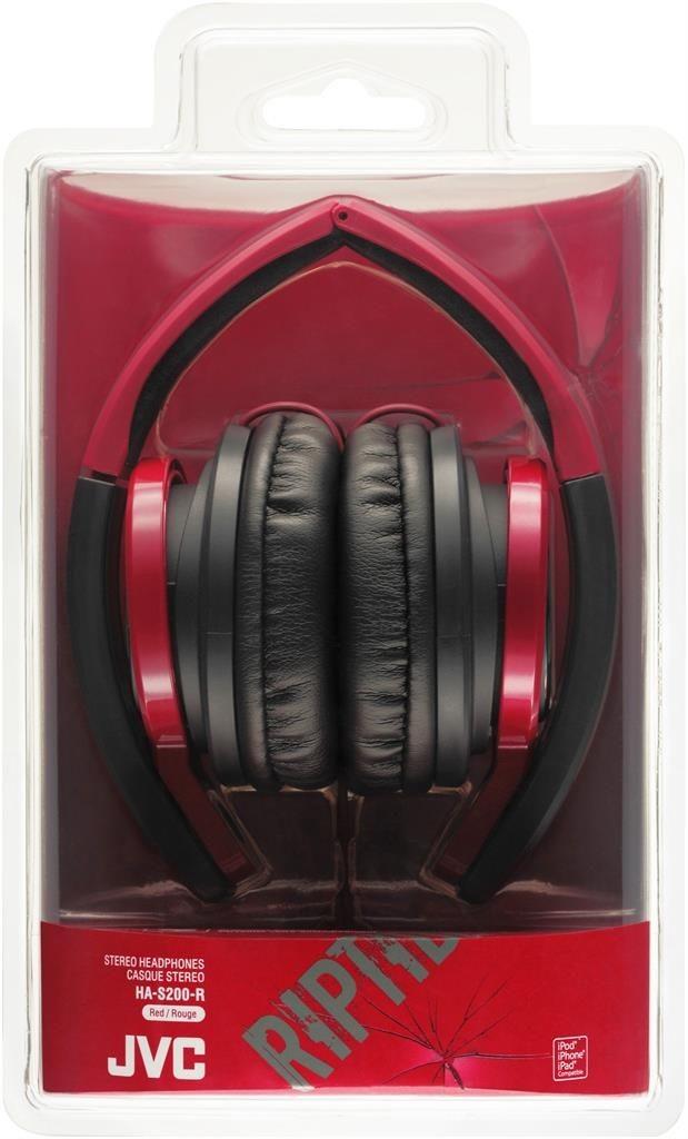 JVC Słuchawki nauszne HA-S200-R