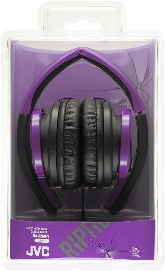 JVC Słuchawki nauszne HA-S200-V