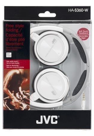 JVC Słuchawki nauszne HA-S360-W*