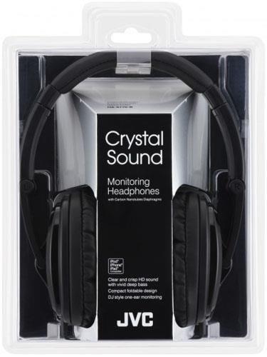 JVC Słuchawki nauszne HA-S770-B*