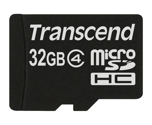 Transcend Micro SDHC Class 4 32GB (bez adaptéru)