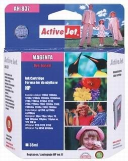 ActiveJet Tusz ActiveJet AH-11MR | Magenta | 35 ml | Regenerowany | HP C4837A HP 11