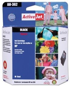 ActiveJet Tusz ActiveJet AH-336R | Black | 9 ml | Regenerowany | HP C9362EE HP 336
