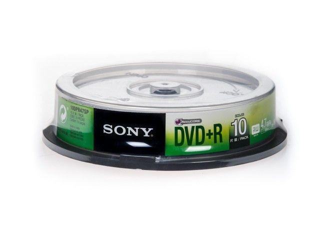 Sony DVD+R 4,7 GB | 16x [cake 10 szt.]