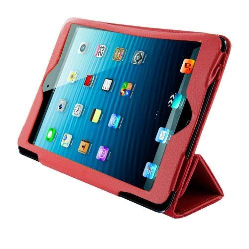 4World Etui ochronne/Podstawka do iPad Mini, Folded Case, 7'', czerwone