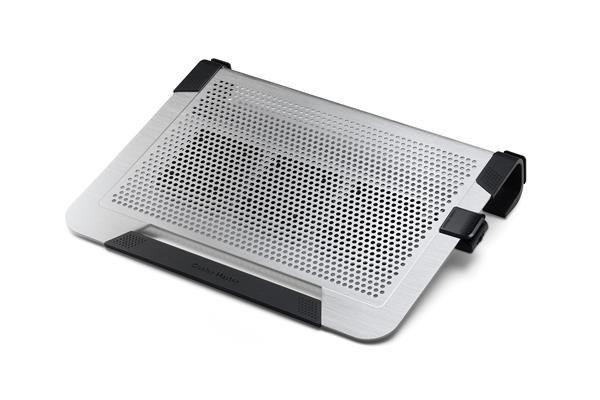 Cooler Master CoolerMaster chladicí ALU podstavec NotePal U3 PLUS pro NTB 15-19 silver, 3x8cm fan