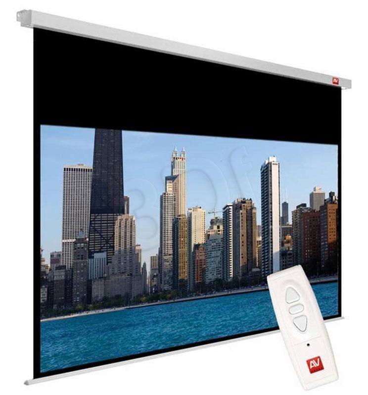 AVTek Avtek ekran projekcyjny VIDEO ELECTRIC 200 (sufitowy ścienny rozwijany elektrycznie 195x146cm)