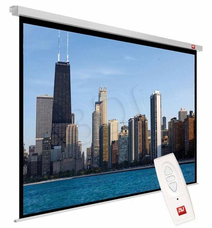 AVTek Avtek ekran projekcyjny VIDEO ELECTRIC 270 (sufitowy ścienny rozwijany elektrycznie 260x195cm)