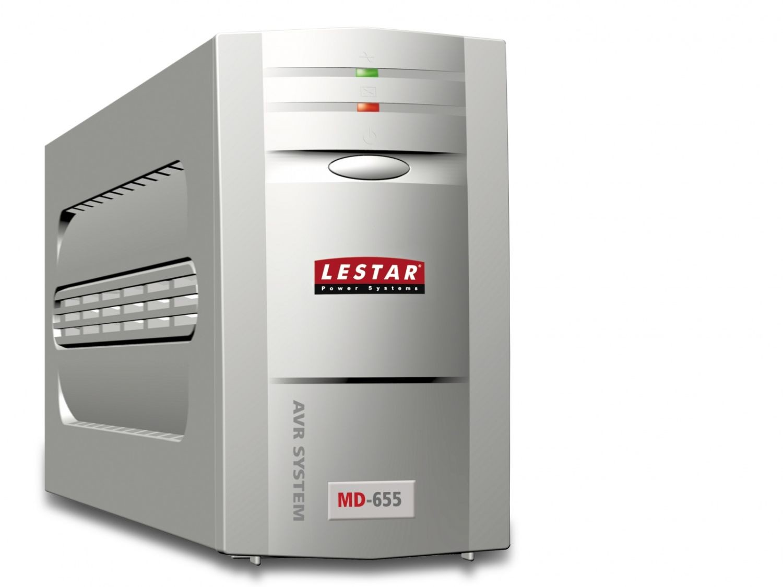 Lestar UPS L-INT MD-655 375W AVR 3+1xIEC USB RJ LED GR