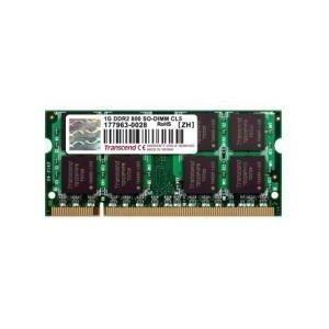 Transcend 2GB 800MHz DDR2 Non-ECC CL6 SODIMM 1.8V
