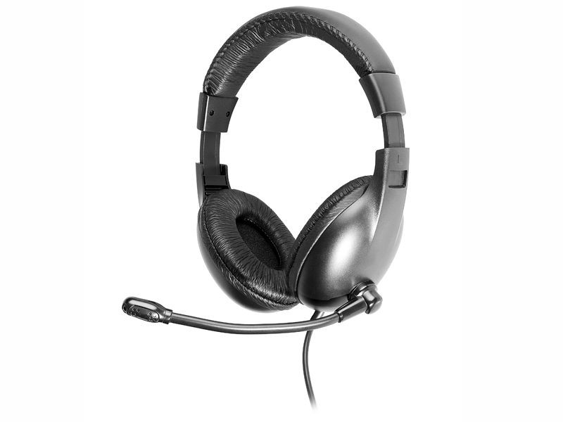 Tracer Słuchawki z mikrofonem Czarny TRASLU43784
