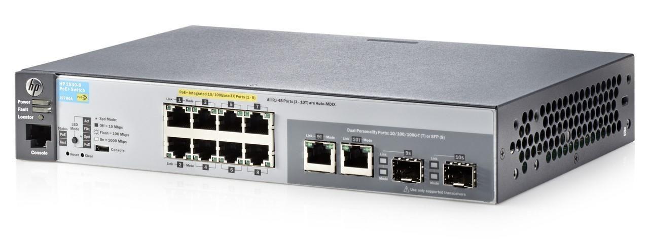 HP Switch zarządzalny Aruba 2530-8G-PoE+ Switch (J9774A)