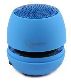 Gembird przenośny głośnik z wbudowaną baterią(MP3, telefon GSM, laptop)niebieski