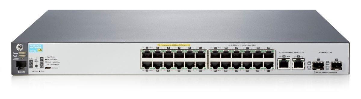 HP Switch zarządzalny Aruba 2530-24-PoE+ Switch (J9779A)