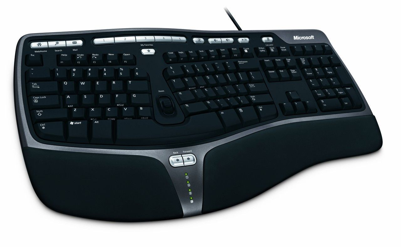 Microsoft Natural Ergonomic Keyboard 4000 USB black