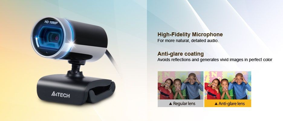 A4 Tech A4tech PK-910H, Full HD web kamera, USB