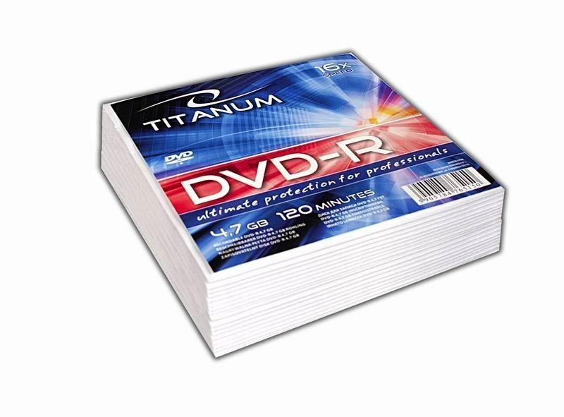 Esperanza DVD-R TITANUM [ koperta 20 | 4.7GB | 16x ]