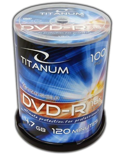 Esperanza DVD-R TITANUM [ Cake Box 100 | 4,7GB | 16x ]