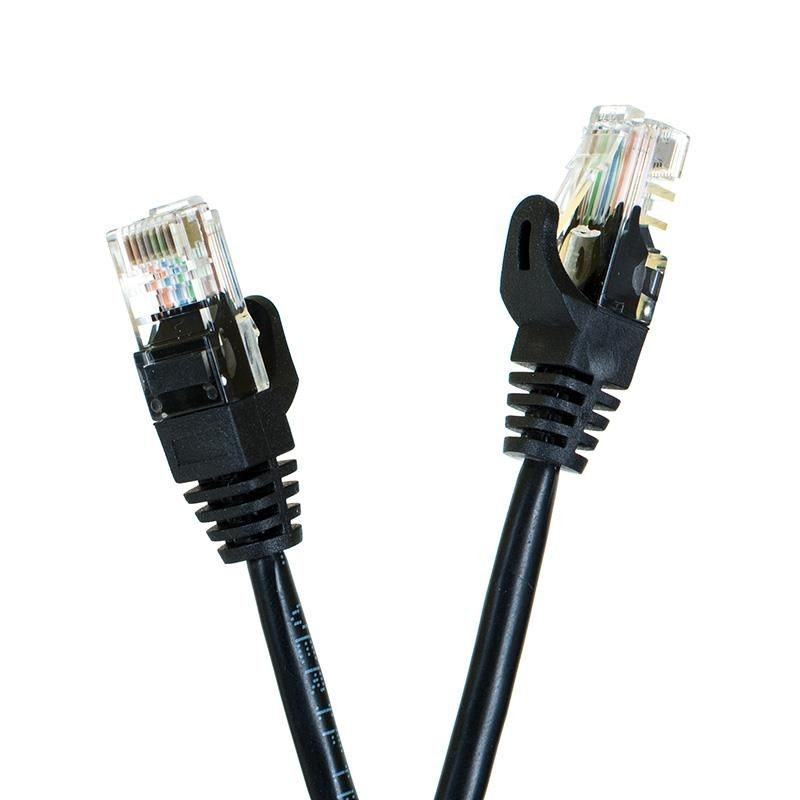 Digitalbox START.LAN Patchcord UTP cat.5e 1m czarny