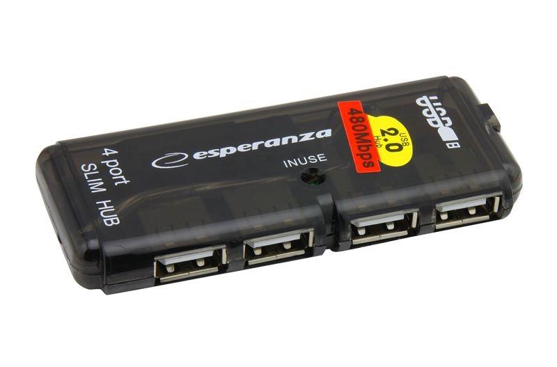 Esperanza HUB 4 PORTY USB 2.0 EA112