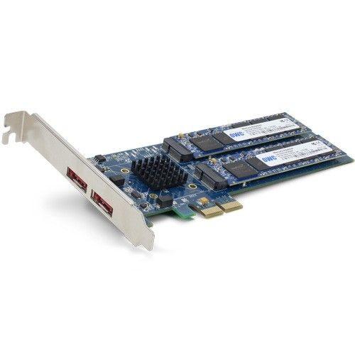 OWC Mercury Accelsior_E2 960GB PCIE SSD 810/640MB/s 100k IOPS +2x eSATA
