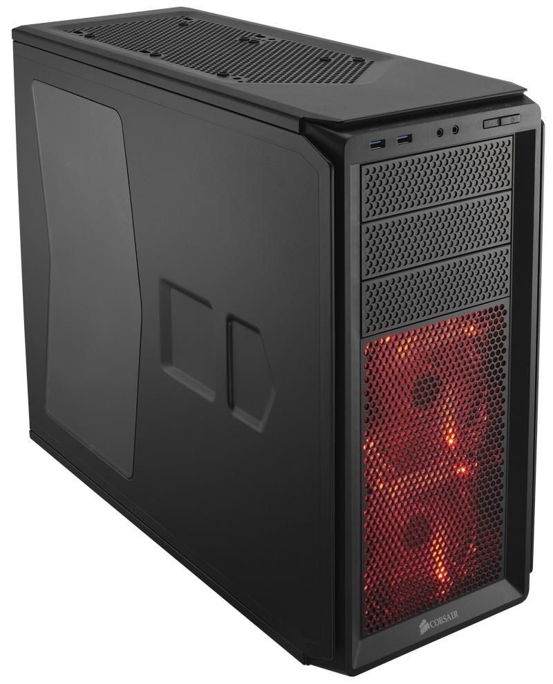 Corsair obudowa komputerowa Graphite Series 230T Compact Mid Tower Case black