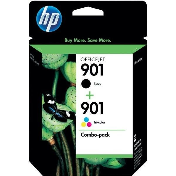HP Tusz HP 901 black 2-Pack | J4580/J4680