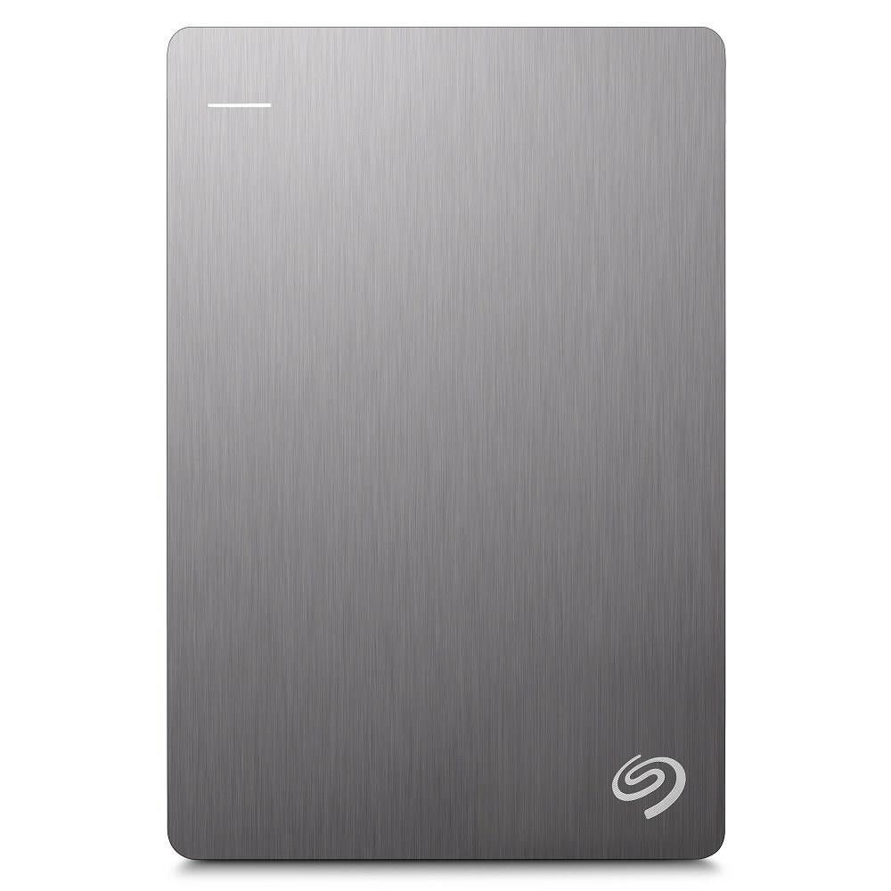 Seagate Dysk zewnętrzny Backup Plus; 2,5'', 1TB, USB 3.0, srebrny