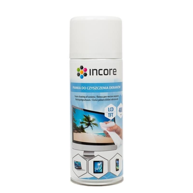 Incore Pianka do ekranów 400 ml spray