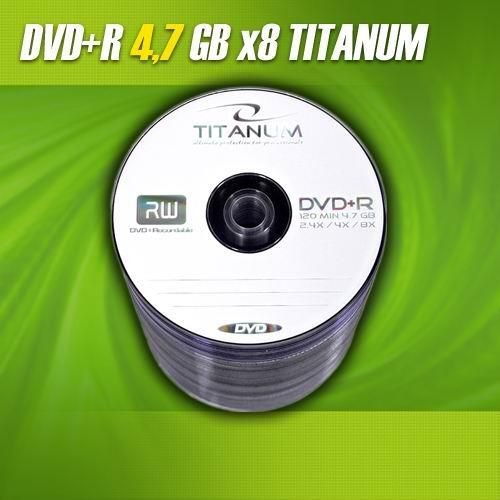Titanum DVD+R 8x 4,7GB (Spindle 100)