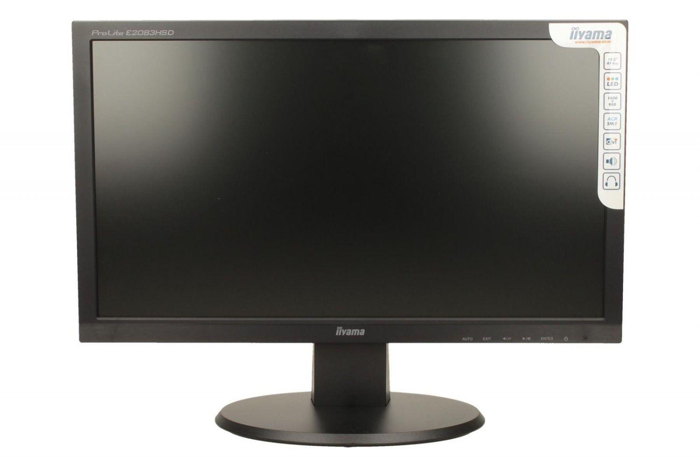 iiyama Monitor E2083HSD-B1 19.5inch, TN, HD+, DVI, głośniki