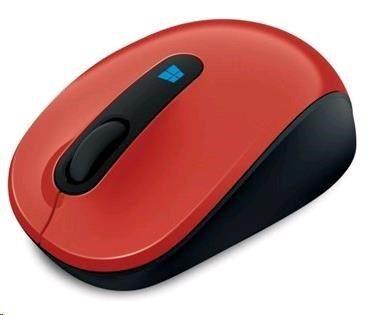 Microsoft Sculpt Mobile Mse Win7/8 EN/AR/CS/NL/FR/EL/IT/PT/RU/ES/UK EMEA EFR Flame Red V2