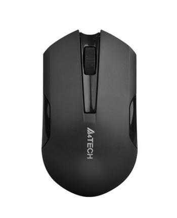 A4 Tech A4tech G3-200N, V-Track, bezdrátová optická myš, 2.4GHz, 10m dosah, černá